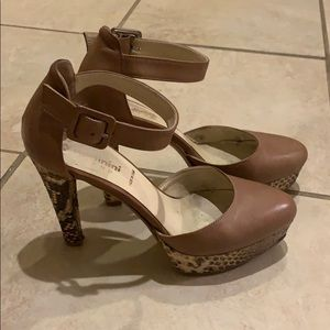 BALDININI Pumps in Neutral Leather Size 7